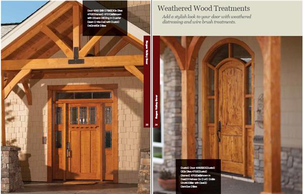 别墅实木门创意设计资料素材