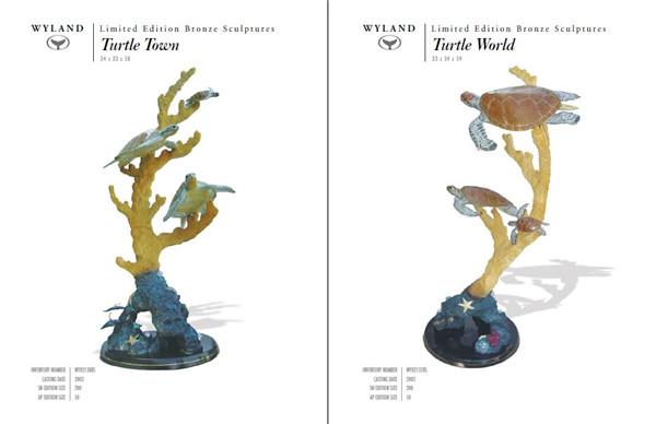 海洋动物雕塑目录图册