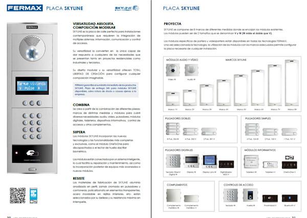 fermax 2015年可視對講機安裝設計目錄專輯