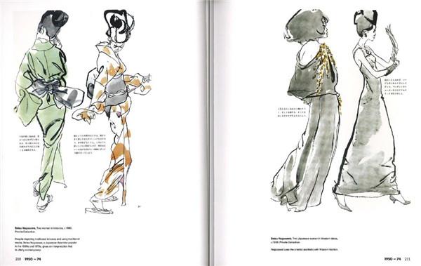 100年服装设计史 服装手绘手稿创意设计资料素材