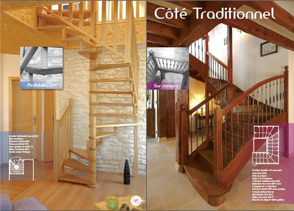 别墅室内欧式旋转楼梯