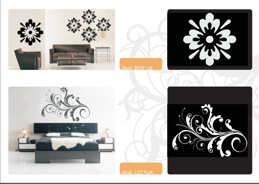 墙纸墙绘装饰花纹图案创意
