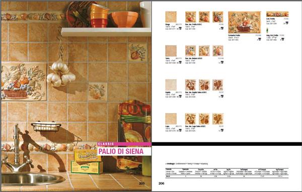 目錄圖冊 墻磚地磚地板設計瓷磚地板裝修設計創意