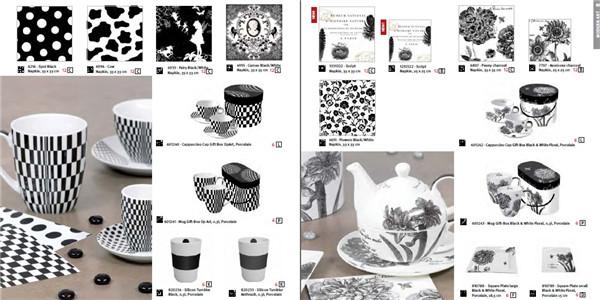花纸图案陶瓷礼品包装咖啡杯创意设计素材