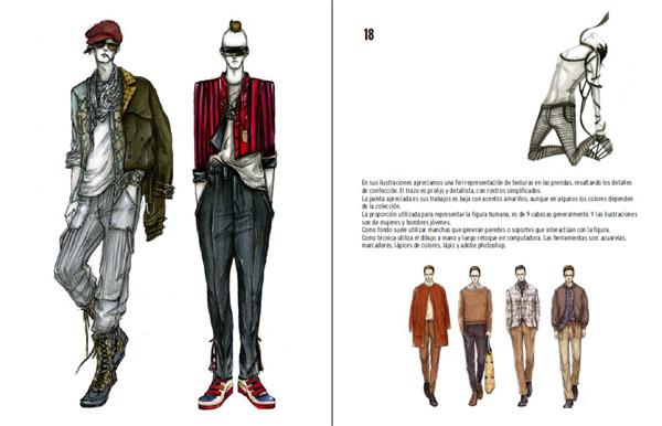 pdf电子版   创意设计主题: 服装手稿彩稿,服装素描手绘设计,服装
