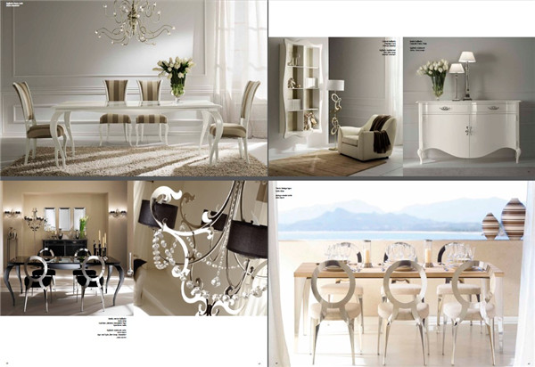 欧式家具沙发床具设计简欧软装搭配创意设计素材